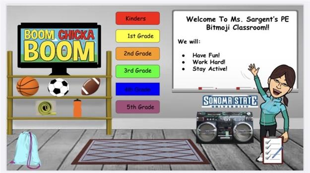 PE : Ms. Sargent's Virtual Classroom