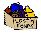 LOST AND FOUND WILL BE DONATED ON 5/31/18