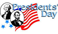 NO School - Presidents' Day