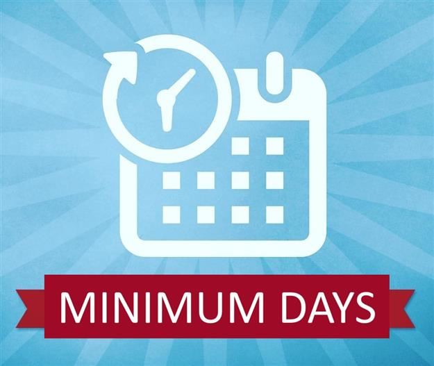 Minimum Days