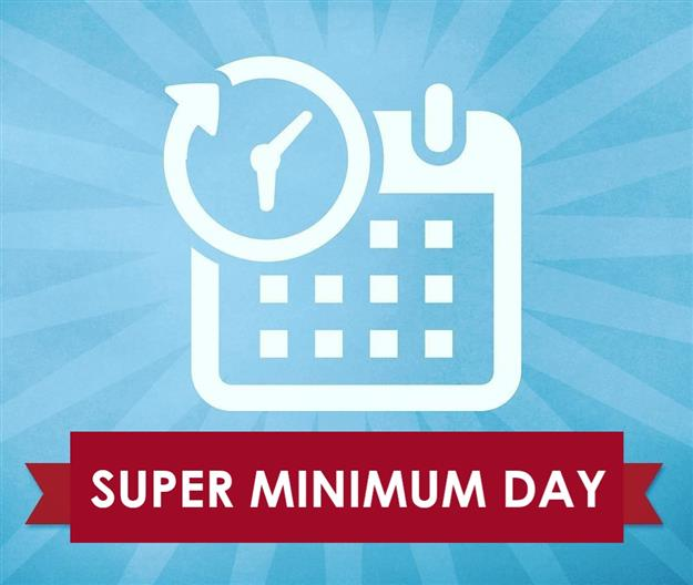Super Minimum Day