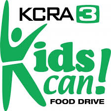 KCRA KIDS CAN FOOD DRIVE