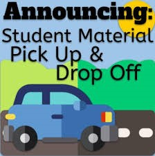 MATERIALS PICK UP NOW ON MONDAYS!