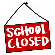 SCHOOL IS CLOSED EFFECTIVE MONDAY, MARCH 16TH.
