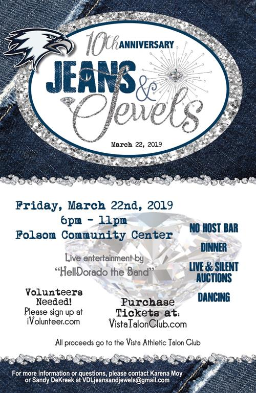 Jeans & Jewels flyer