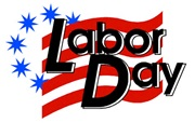 LABOR DAY - SEPTEMBER 2nd