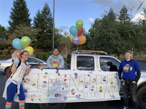 homecoming parade was a success!