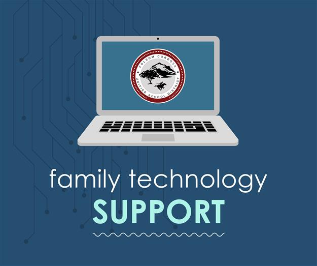 graphic: family technology support