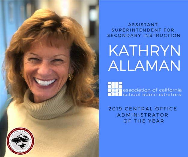 Kathryn Allaman ACSA Central Office Administrator of the Year