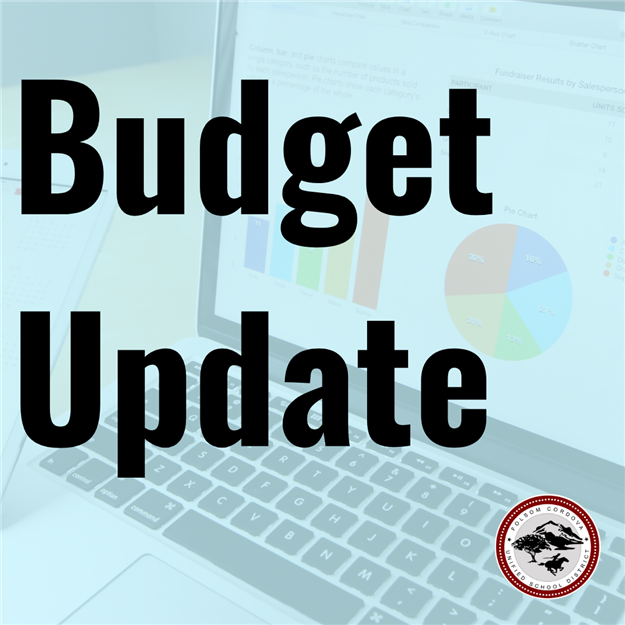 Budget Update graphic