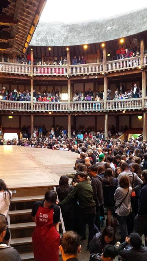 Globe Theatre Summer 2014 - Before Julius Caesar
