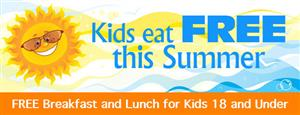 FREE MEALS FOR CHILDREN DURING THE SUMMER