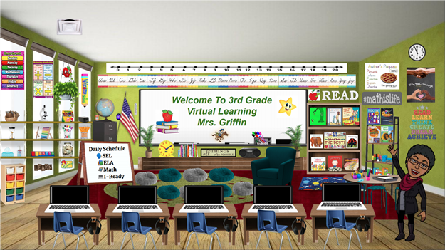 Sharon Griffin - 3rd Grade Virtual Classroom