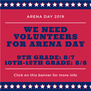 Arena Day Information 2019