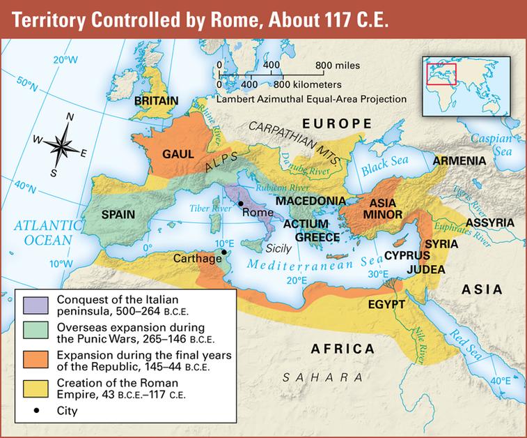 Williams, Rachel / Unit 6 - Ancient Rome on