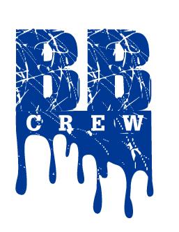 Bleed Blue Crew Logo