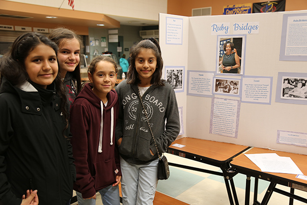 Students participate in district's History Day in preparation for county competition