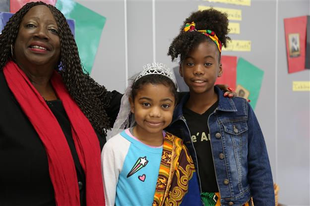 Cordova Villa students participate in annual Black History Month program