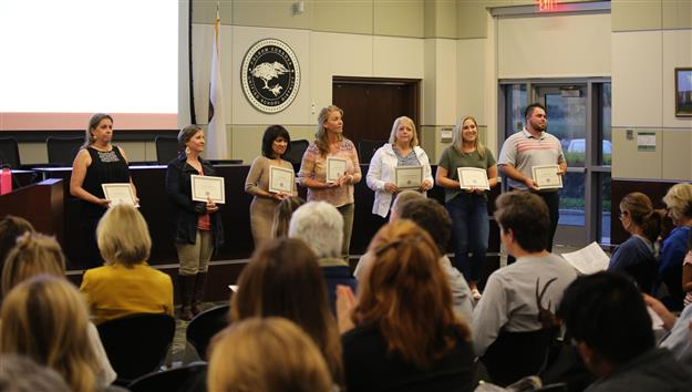 Several honored for Excellence in Special Education at awards ceremony