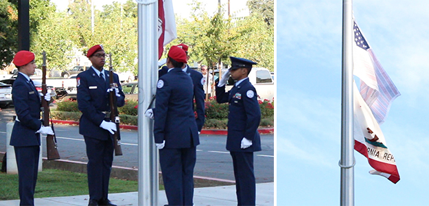 VIDEO: Cordova High remembers 9/11 victims with tribute