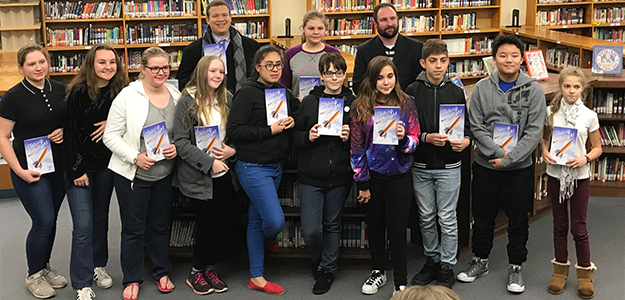 916 Ink publishes student authors from Mills Middle School