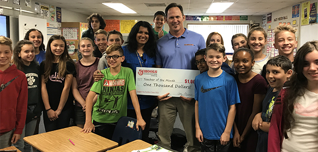 IN THE NEWS: Anita Kamath named ABC10's July Teacher of the Month