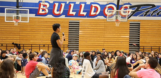 VIDEO: Breaking Down the Walls program unites Folsom High School campus.