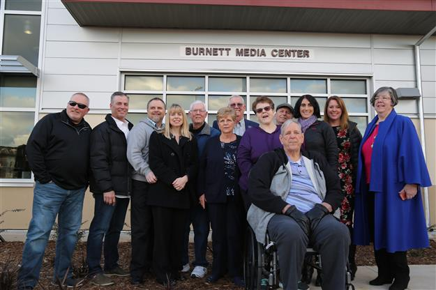 VIDEO: Sutter Middle dedicates new media center to Burnett family