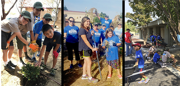 Hundreds volunteer on Folsom Community Service Day