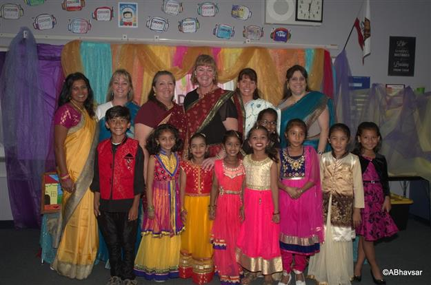 Diwali Night at Theodore Judah Elementary