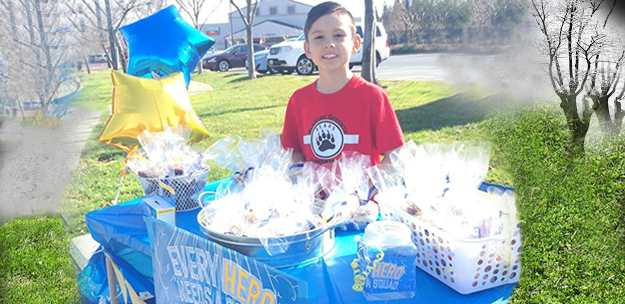 Blanche Sprentz 2nd grader's bake sale raises money for kids with cancer