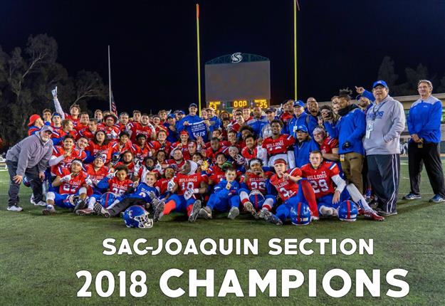 Folsom Bulldogs win 7th CIF Sac-Joaquin Section Division I Title in a decade