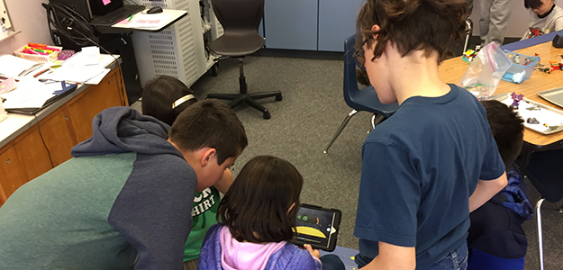 Cordova Gardens Stop Motion Animation Club students create animation videos