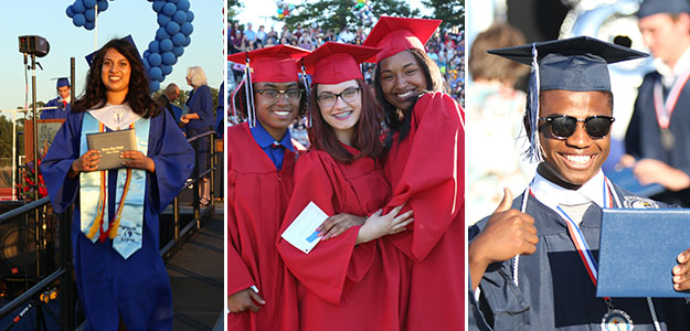 WE'VE GOT PHOTOS: High school graduation and middle school promotion highlights