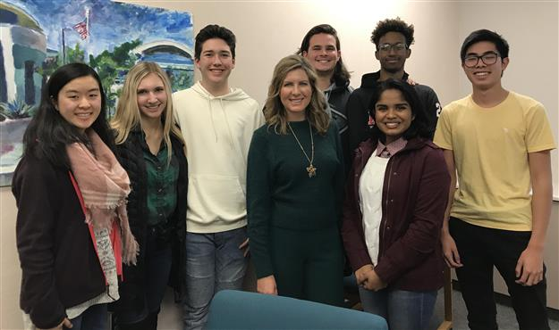 Folsom High students featured on ABC10's Teen Talk to discuss stress