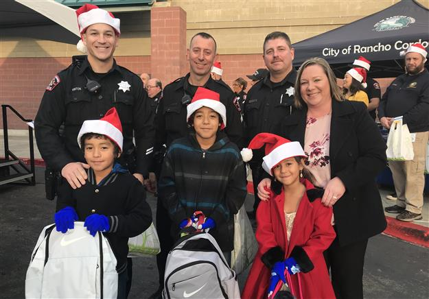 Holiday STAR shopping spree puts smile on Rancho Cordova elementary students' faces