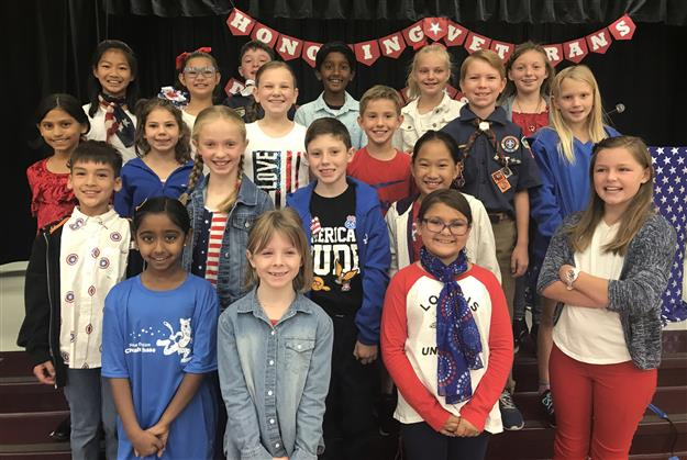 PHOTOS: Natoma Station Elementary students honor veterans