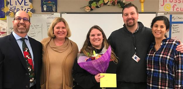 Cordova educator earns statewide award for outstanding teaching