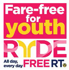 Logo for SactRT RYDE free program