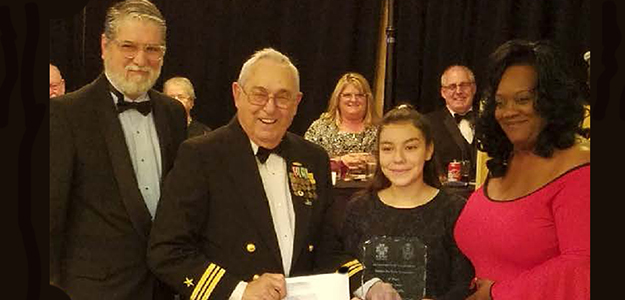 Mills student wins VFW essay contest, heads to nationals