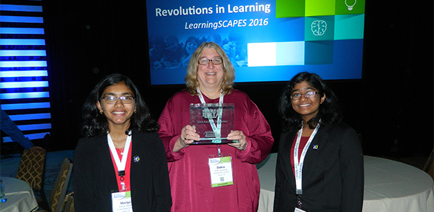 "Sutter team wins big at international ""School of the Future"" contest"