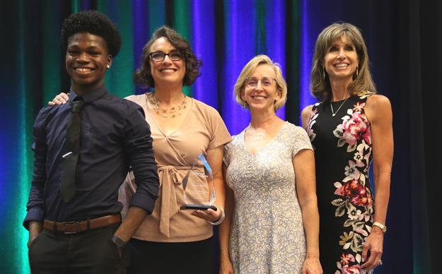 Longtime educator Khan honored alongside county teachers of year