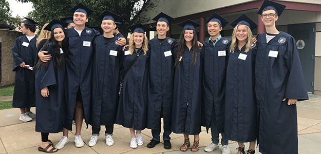 VIDEO: Seniors at CHS and Vista del Lago inspire elementary students with grad walks