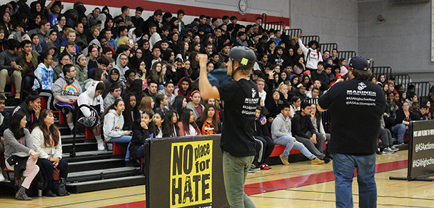 IN THE MEDIA: Anti-Bullying extreme sports tour visits Cordova High