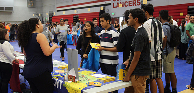 VIDEO: College Fair draws hundreds of students and families