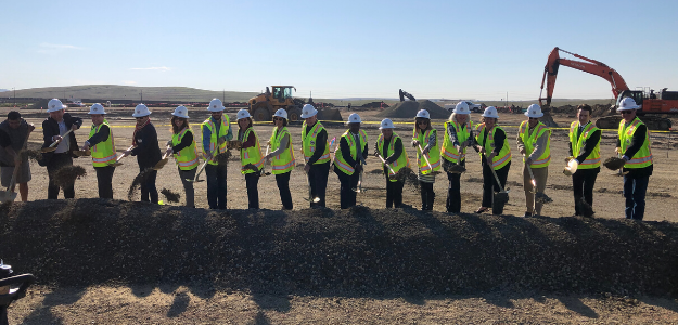 Community celebrates groundbreaking of Mangini Ranch Elementary
