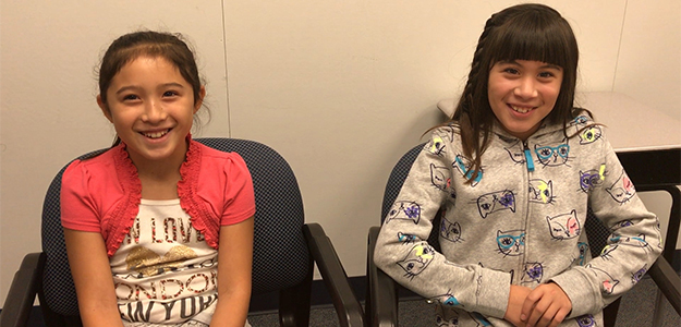 VIDEO: Sisters highlight importance of attending school daily