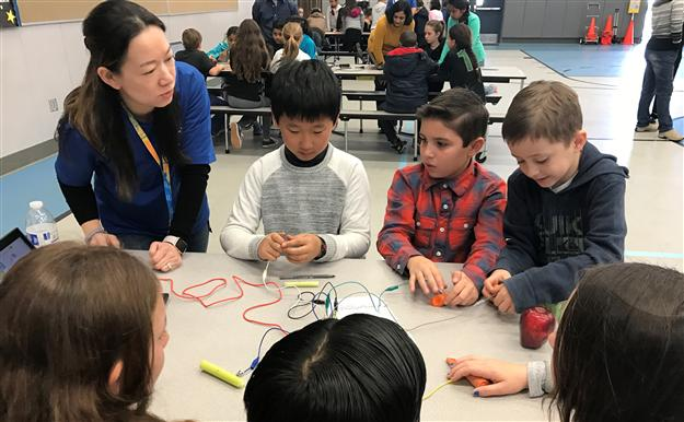 Intel gives students electricity lesson