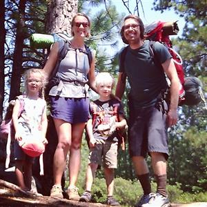 Cassidy Family Backpacking