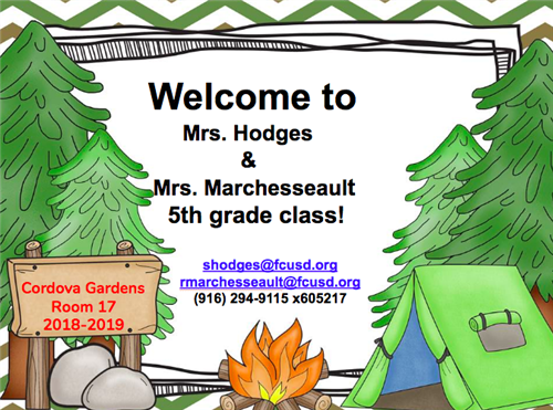 Hodges, Sarah / Welcome